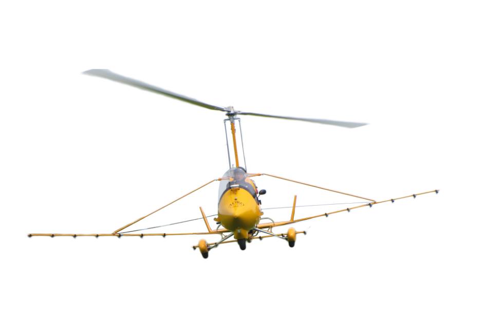 油動大載重有人自旋翼植保機